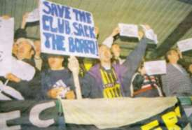 fan protests 1999