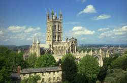 Gloucester Cathedral - Pic. Gloshire Tourist Board