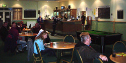 Green Man bar at New Lawn
