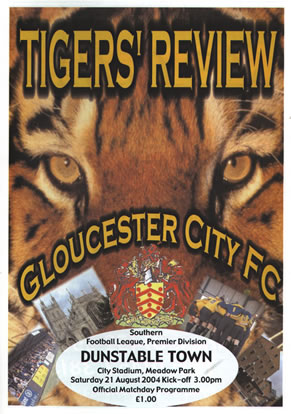 Programme Cover 99-00