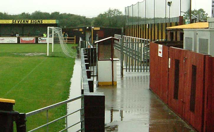 Meadow Park soggy