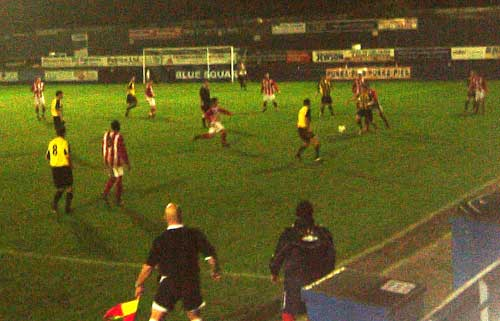 City vs Evesham in league cup